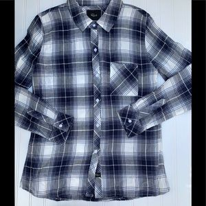 Rails Medium Striped Plaid Button Down Shirt